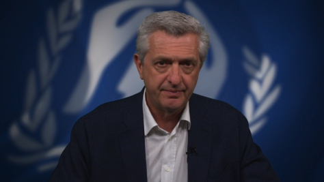 UNHCR chief commemorates World Refugee Day 2019
