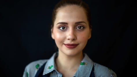 Germany. Portraits of DAFI scholarship winners and refugee students
