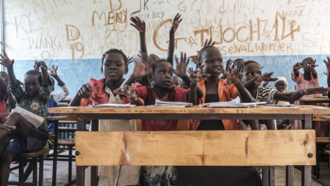 Ethiopia. Refugee teacher believes that education is the key to a brighter future in his homeland of South Sudan