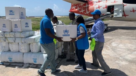 Somalia. UNHCR Response to flooding in central Somalia