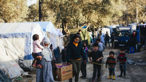 Greece. UNHCR calls for decisive action to end alarming conditions on Aegean islands