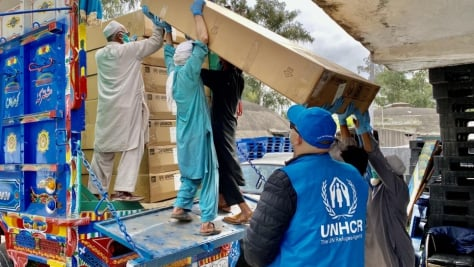 Pakistan. UNHCR steps up efforts to support the COVID-19 response