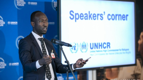 UN Refugee Agency Global Refugee Forum 2019 Speakers Corner