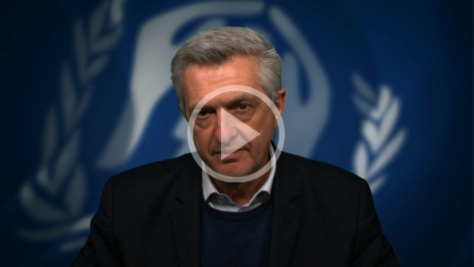 UN High Commissioner for Refugees Filippo Grandi UNHCR