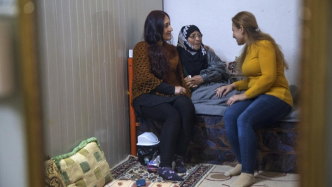 Iraq. Syrian refugees in Akre camp train as mental health counsellors