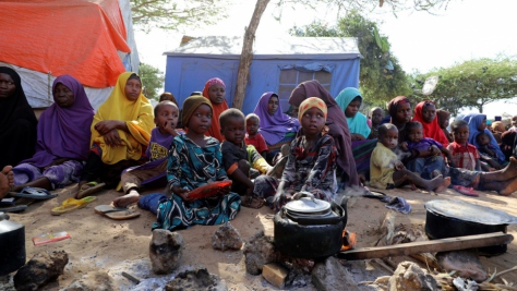 Somalia. Families flee to capital fearing U.S. airstrikes