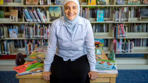 Jordan. Children's reading advocate wins Nansen Middle East regional prize