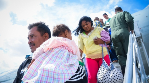 Brazil. Over 5,000 Venezuelans relocated across the country