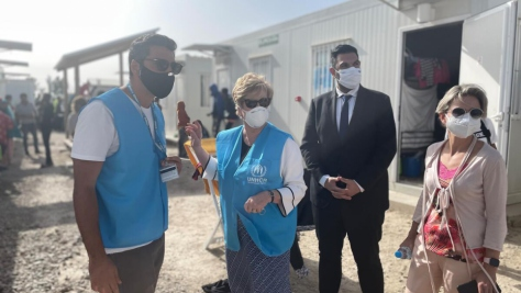 Cyprus. Assistant High Commissioner for Protection Gillian Triggs' visit