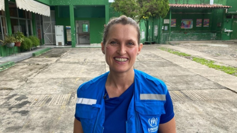 Mexico. Staff profile of Kristin Riis Halvorsen, head of office in Tapachula