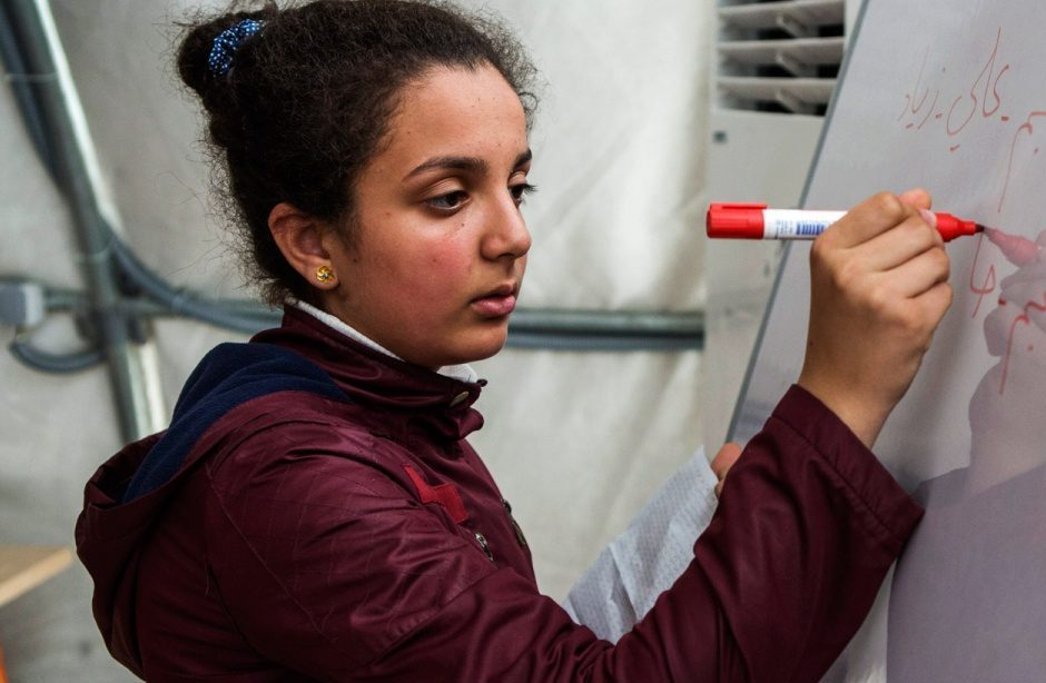 Four million Syrians have registered as refugees. Ivra, a teenage girl who fled to Turkey, gives voice to their loss.
