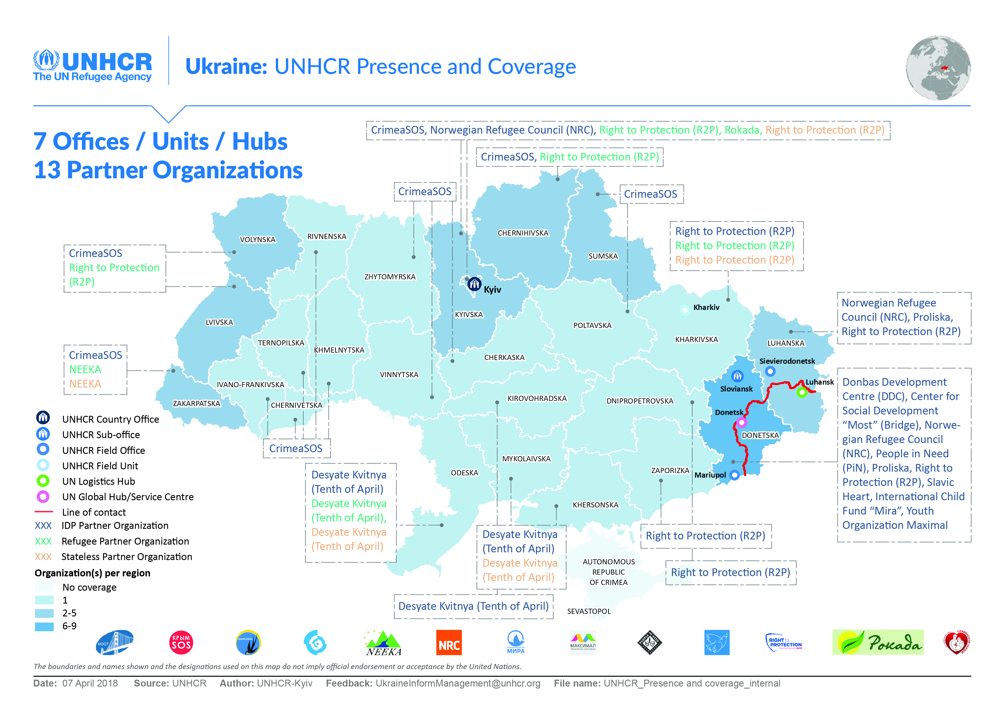 Evacuators in the Luhansk region: a selection of sites