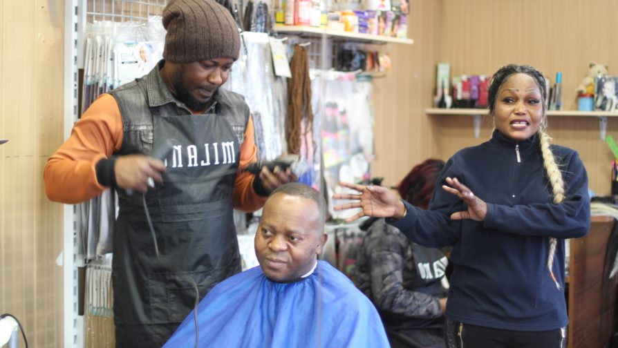 Hiring three other staff members, she has expanded her services to include men's and women's hairstyles