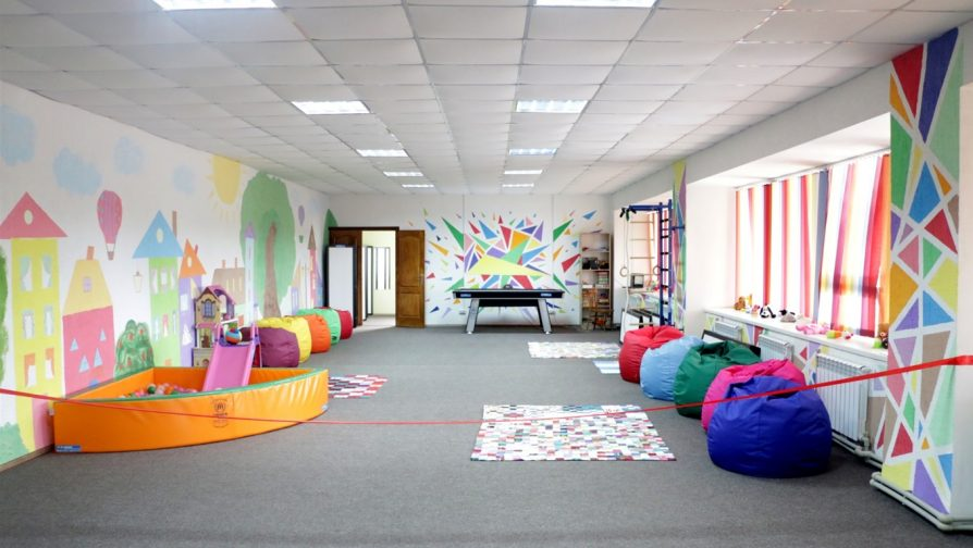 """""""Kidslandia"""" centre will brighten lives of children living close to the contact line"""