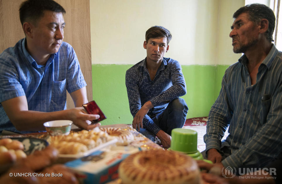 Kyrgyzstan. Son of formerly stateless Lyuli family dreams of being a doctor again
