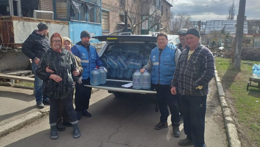 International Water Day: Addressing the lack of drinking water in east Ukraine
