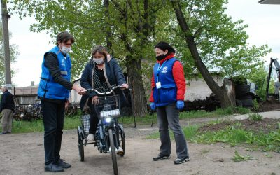 Electric bicycles for the frontline villages