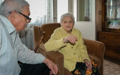 UNHCR supports 96 years old woman, survivor of the World War II
