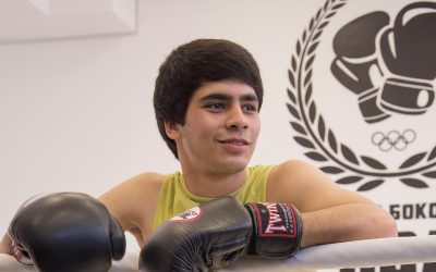 """Ali: """"In the future, I dream of winning an international boxing competition as a Ukrainian boxer."""""""