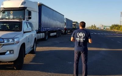 UNHCR delivered 92 tons of humanitarian aid to Luhansk