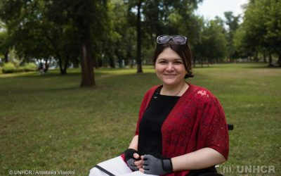 Activist champions rights of people with disabilities in Ukraine