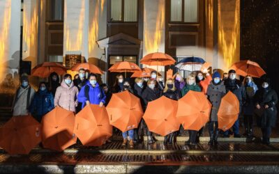 UNHCR joins the all-Ukrainian campaign for the elimination of violence against women