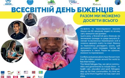 Photo exhibition for the World Refugee Day