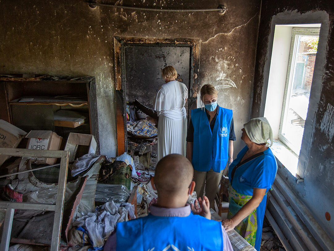 """""""We are in the field every day, supporting people"""" – UNHCR Ukraine"""