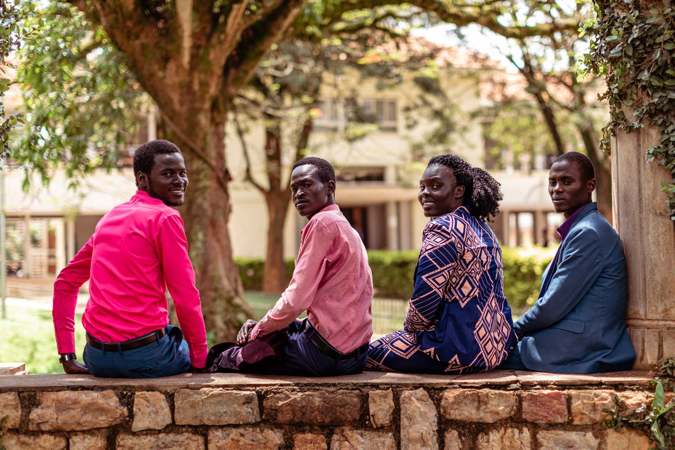 Refugee students at Makerere University in Kampala, Uganda. STAR's work forms part of a global push to improve access to secondary and tertiary education for refugees.